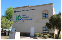 Nevada State High School Downtown