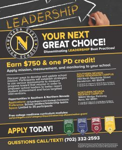Leadership Training flyer