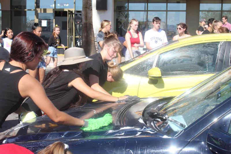 Nevada State High School's Car Wash 2019