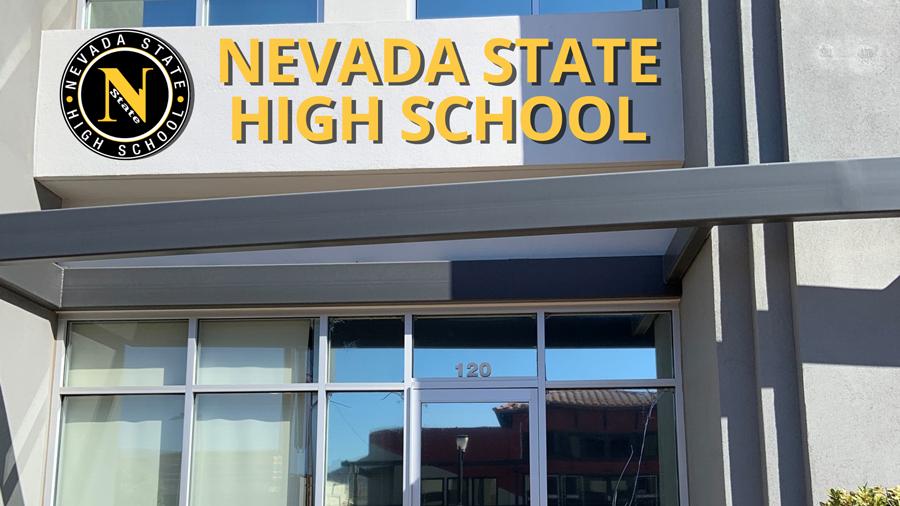 Mockup of NSHS building