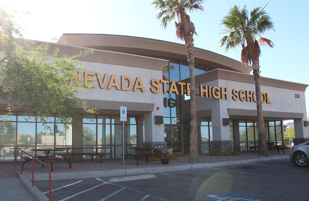 Nevada State High School's Henderson location